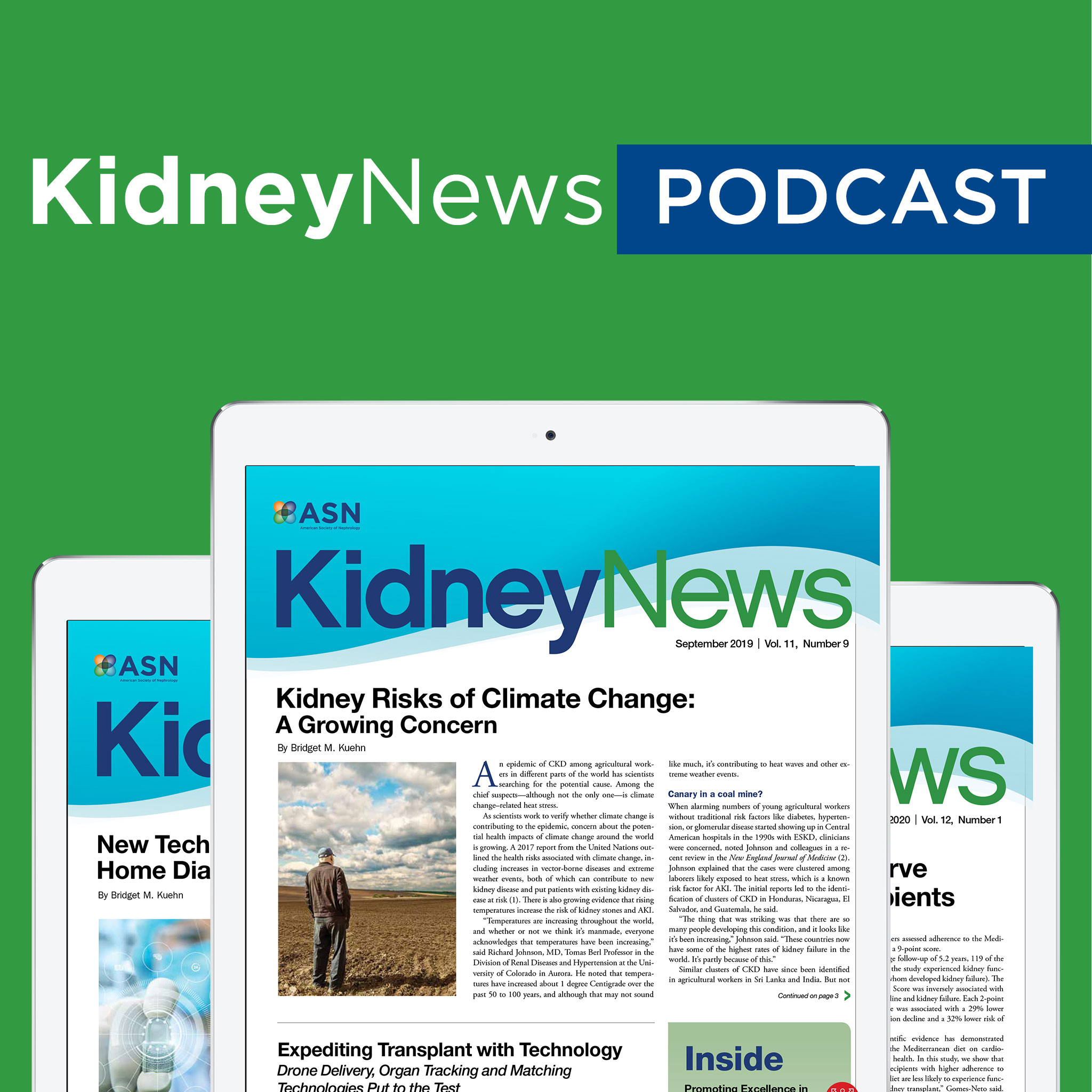 ASN Kidney News Podcast