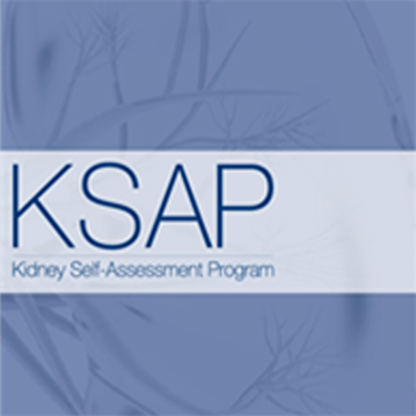 KSAP: Kidney Self-Assessment Program: Volume 6 Module 1